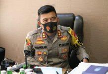 Polres Pelabuhan Makassar drive thru vaksin