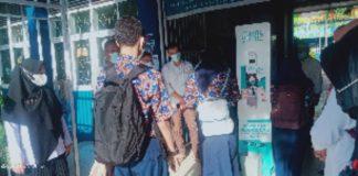 PTM Makassar di SMP Negeri 4